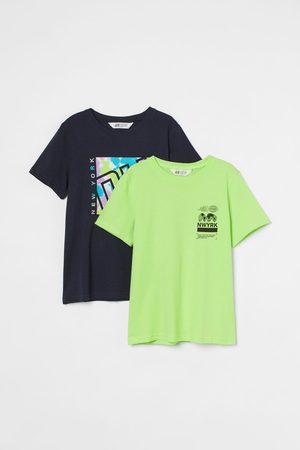 H&M T-shirt in cotone, 2 pz