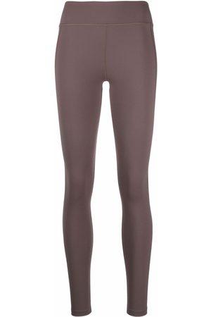 Filippa K Donna Pantaloni sportivi - Leggings a vita alta Essential - Toni neutri