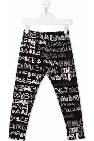 Dolce & Gabbana Leggings con stampa