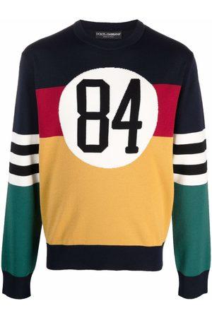Dolce & Gabbana Uomo Felpe - Maglione con design color-block