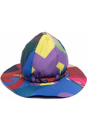 SACAI Cappello bucket con stampa