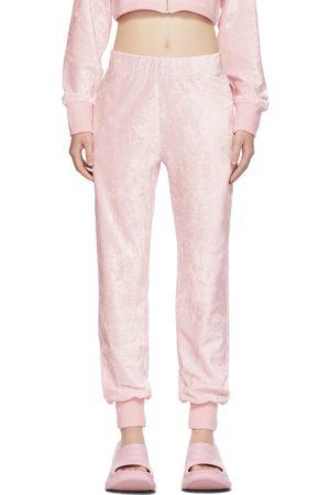 Givenchy Donna Pigiami - Pink Velvet Lounge Pants