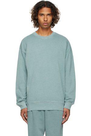 Reebok Uomo Felpe - Blue Natural Dye Sweatshirt