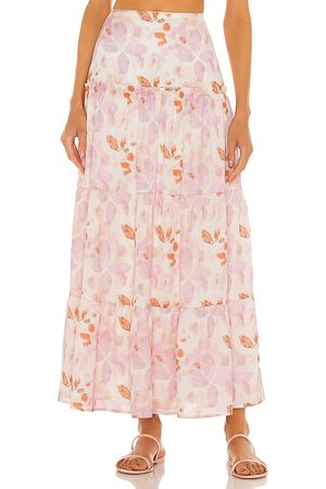 House of Harlow X Sofia Richie Tammy Skirt in - Pink. Size L (also in S, XXS, XS, M, XL).