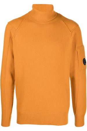 C.P. Company Uomo Felpe - Logo-patch sleeve jumper