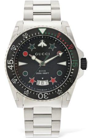 """Gucci Orologio """" Dive Xl"""" Con Gomma 45mm"""