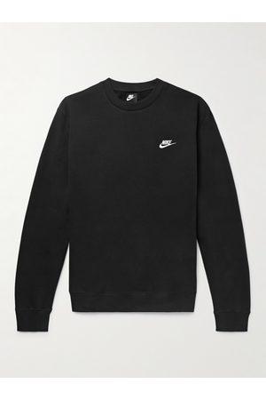 Nike Uomo Felpe - Sportswear Club Logo-Embroidered Cotton-Blend Tech Fleece Sweatshirt
