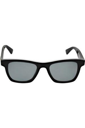 Bottega Veneta Squared Acetate Sunglasses