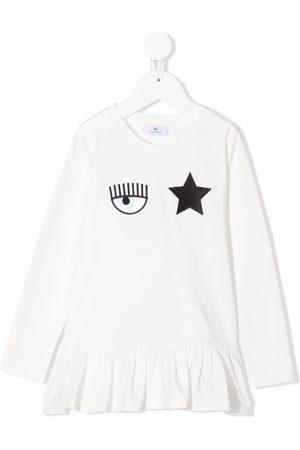 Chiara Ferragni Bambina T-shirt - T-shirt MONNALISA x Chiara Ferragni