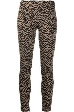 Pinko Donna Slim & Skinny - Pantaloni con stampa slim