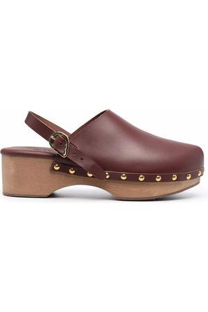 Ancient Greek Sandals Clogs Classic Closed con borchie