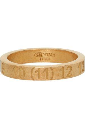 Maison Margiela Uomo Anelli - Gold Numbers Ring