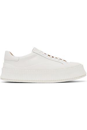 Jil Sander Donna Trainers - White Platform Sneakers