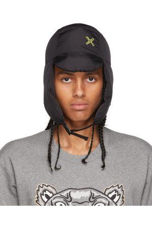 Kenzo Uomo Cappelli - Black Sport Flap Hat