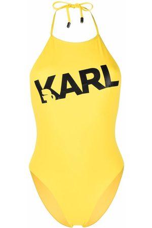 Karl Lagerfeld Donna Costumi interi - Costume intero con stampa