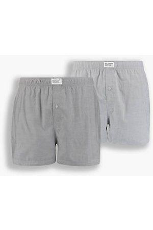 Levi's Uomo Boxer shorts - Boxer parigamba ® Basic Confezione da 2 / Asphalt