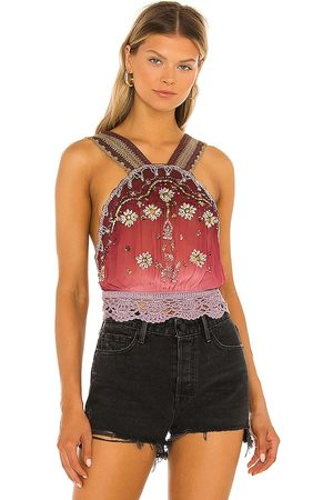 Free People Hi There Halter Top in - . Size L (also in XS, S, M, XL).