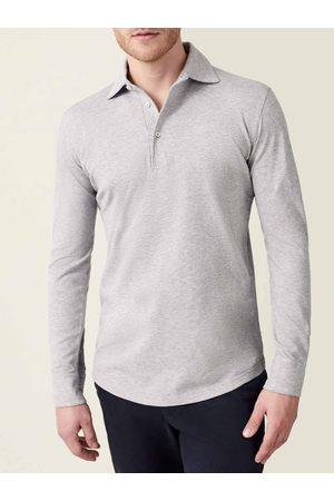 Luca Faloni Polo Shirt Brera chiaro in cotone piquet