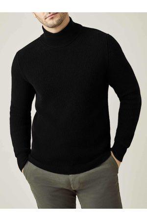 Luca Faloni Mezzocollo in cashmere maglia grossa