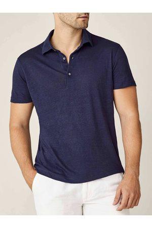 Luca Faloni Polo Elba in jersey di lino