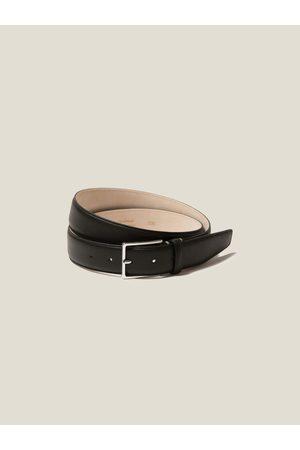 Luca Faloni Uomo Cinture - Cintura nera in Vitello