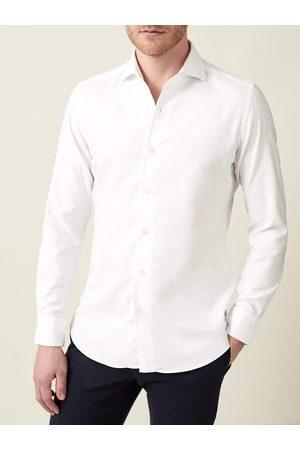 Luca Faloni Camicia bianca in cotone Oxford
