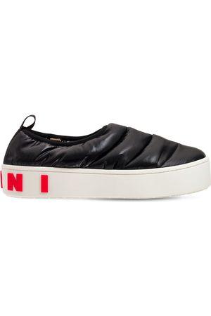 Marni Sneakers Basse Slip-on In Nylon