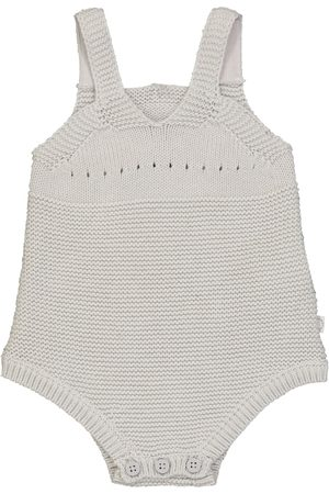 Stella McCartney Baby - Body in cotone e lana