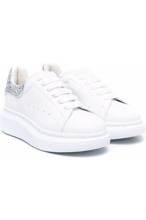 Alexander McQueen Kids Sneakers oversize con glitter