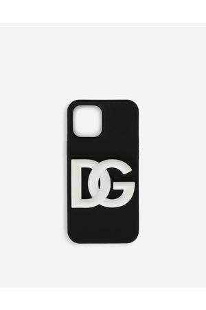 Dolce & Gabbana Uomo Cellulare - Technology - Cover iPhone 12 Pro in gomma con logo DG male OneSize