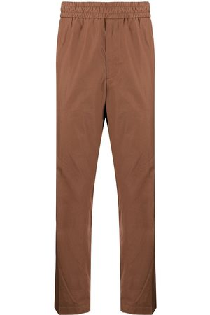 Salvatore Ferragamo Uomo Chinos - Popeline elastic waist trousers