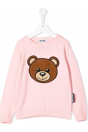 Moschino Kids Maglione Teddy Bear a girocollo