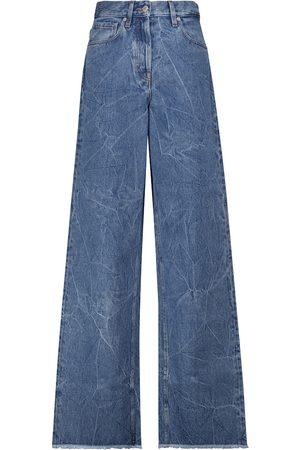 DRIES VAN NOTEN Donna Jeans a vita alta - Jeans a gamba larga e vita alta