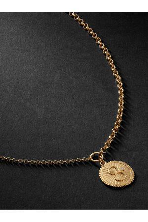 Foundrae Uomo Collane - Karma 18-Karat Diamond Necklace