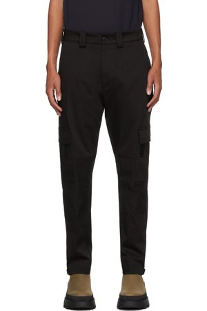 Moncler Black Tapered Cargo Pants