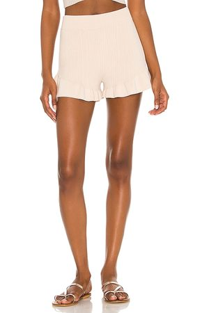 House of Harlow X REVOLVE Olivia Short in - Neutral. Size L (also in M, S, XL, XS, XXS).