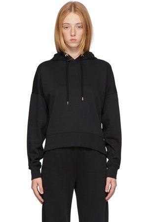 Moncler Donna Hoodies - Black Back Logo Hoodie