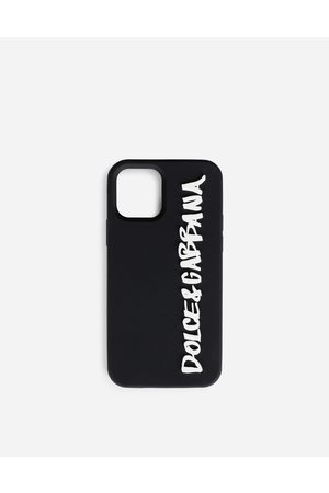 Dolce & Gabbana Collection - Cover iPhone 12 Pro in gomma con logo male OneSize