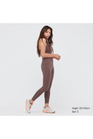 UNIQLO Leggings Sportivi AIRism Soft Protezione Dagli UV Con Tasche Donna
