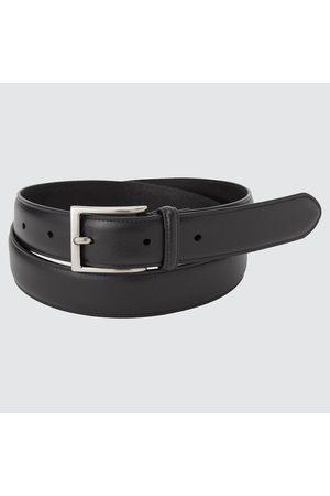 UNIQLO Cintura Vera Pelle Italiana Con Cuciture