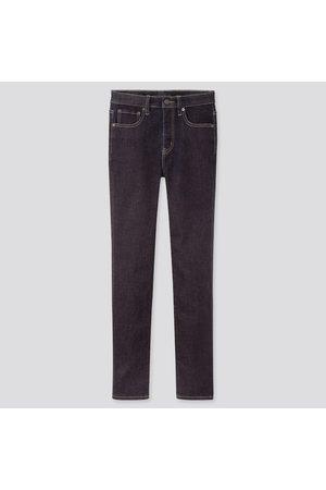 UNIQLO Jeans Alla Caviglia Modellanti Skinny Vita Alta Taglio Dritto Donna