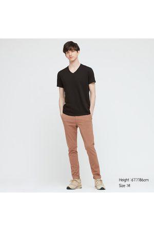 UNIQLO T-Shirt DRY Collo A V Maniche Corte Uomo