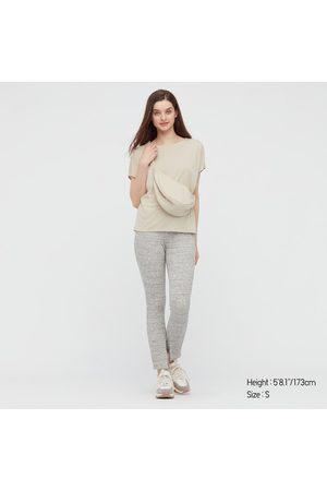 UNIQLO T-Shirt Drappeggiata Girocollo Donna