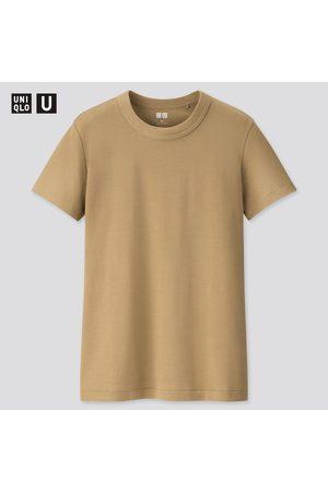 UNIQLO T-Shirt U Girocollo Maniche Corte Donna