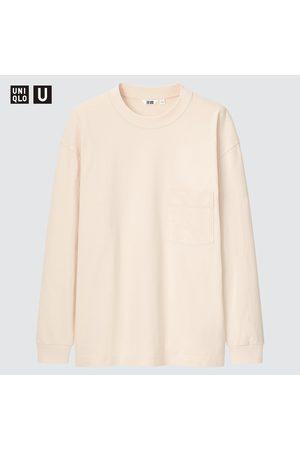 UNIQLO T-Shirt U Girocollo Maniche Lunghe Uomo