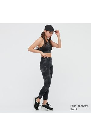 UNIQLO Leggings AIRism Soft Protezione Dagli UV Con Stampa Donna