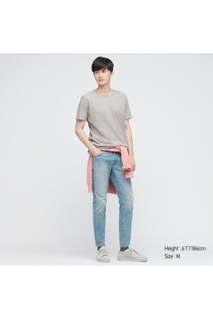 UNIQLO T-Shirt 100% Cotone Supima Girocollo Uomo