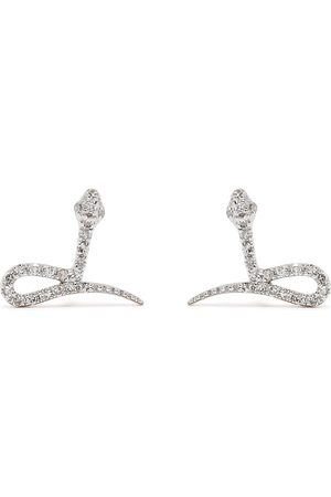 Djula Uomo Orecchini - Orecchini Snake in oro 18kt con diamanti