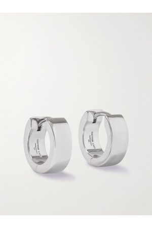 Hatton Labs Uomo Orecchini - Sterling Hoop Earrings