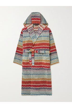 Missoni Uomo Accappatoi e vestaglie - Rufus Cotton-Terry Jacquard Hooded Robe